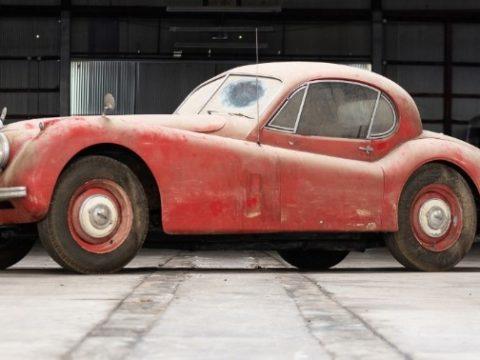 Jaguar XK120 1952 года