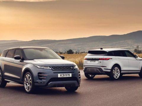 Новый Range Rover Evoque 2019 года.