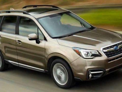 Внедорожники Subaru Forester отзывают за риск отключения подушек безопасности