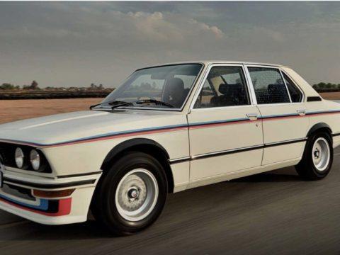BMW прекрасно восстанавил редкую модель 530 MLE 1970-х годов