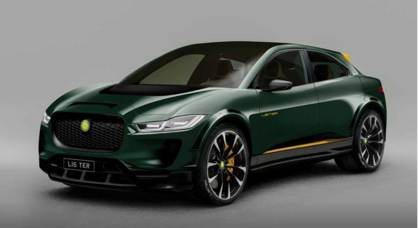 Lister представляет внедорожник-E, высокопроизводительный Jaguar I-Pace