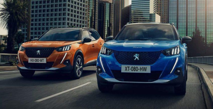 Мини-внедорожники Peugeot 2008 и e-2008