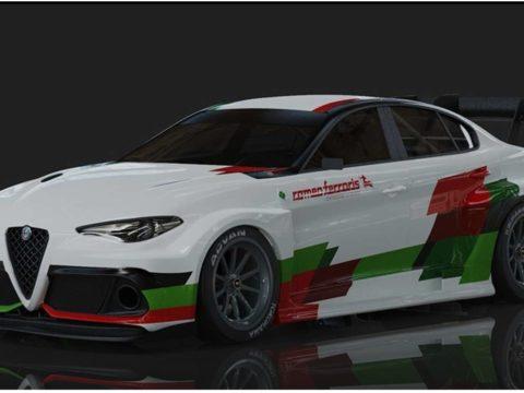 Электрический Alfa Romeo Giulia дебютирует перед гонками в 2020 году