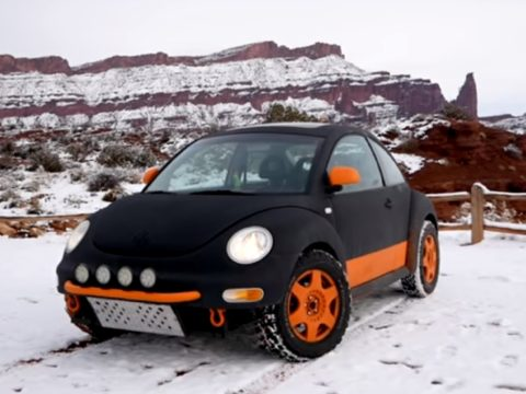 Lifted VW Beetle - бюджетная внедорожная машина