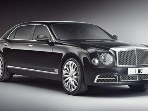 Выпущена новая ограниченная серия Bentley Mulsanne Extended Wheelbase
