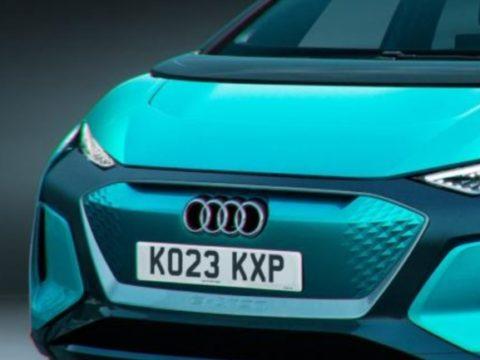 Новый премиум электрический Audi супермини