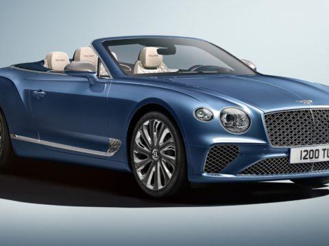 Новый кабриолет Bentley Continental GT Mulliner