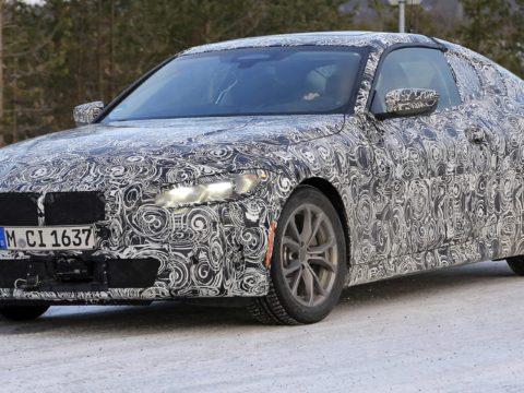 Новый BMW 4 серии 2020 года находится в стадии разработки0