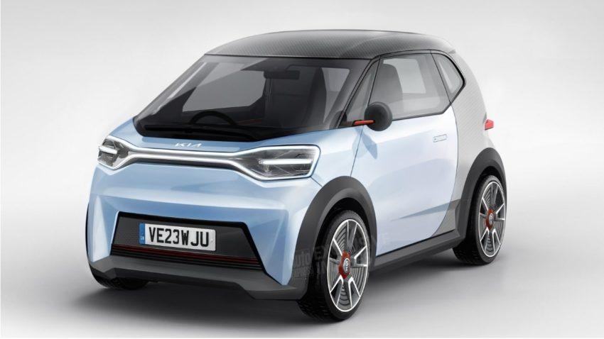 Kia разрабатывает небольшой электромобиль, который сможет создать конкуренцию Citroen Ami