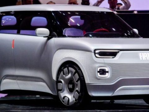 Новый Fiat Panda 2022 года представлен в новом облике