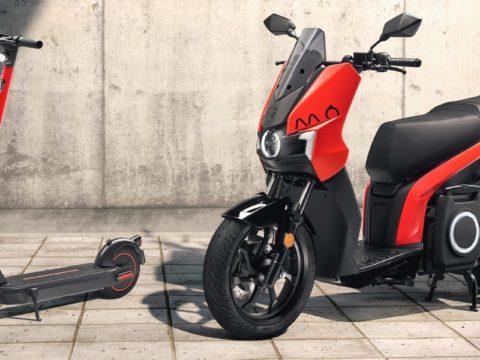 Электрические скутера SEAT