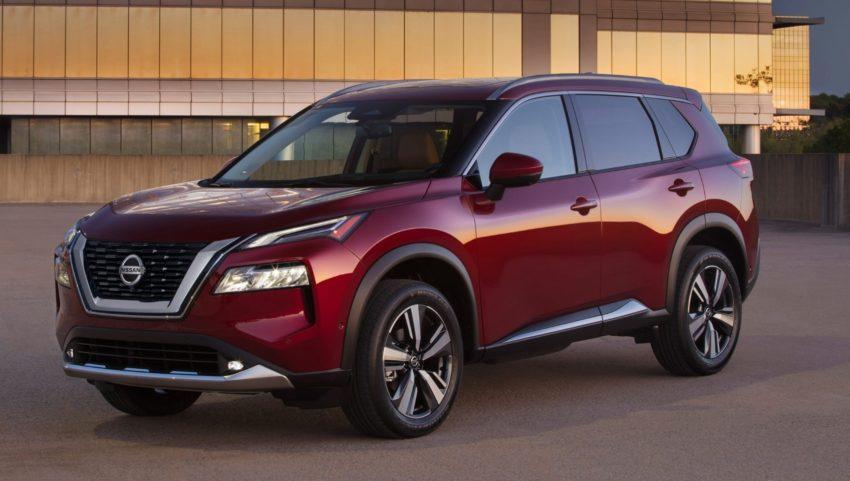 Nissan X-Trail 2021 года представлен в форме Nissan Rogue