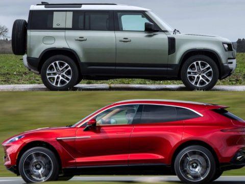 «Land Rover Defender и Aston Martin DBX должны стать лидерами мирового автомобильного дизайна года»