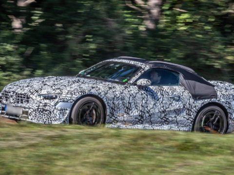 Новый Mercedes SL 2021 года