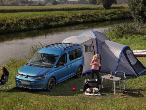 Представлен новый Volkswagen Caddy California