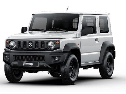 Suzuki Jimny новая коммерческая версия