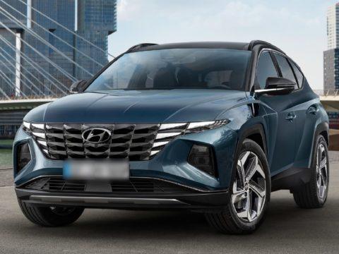 Новый внедорожник Hyundai Tucson 2021 года